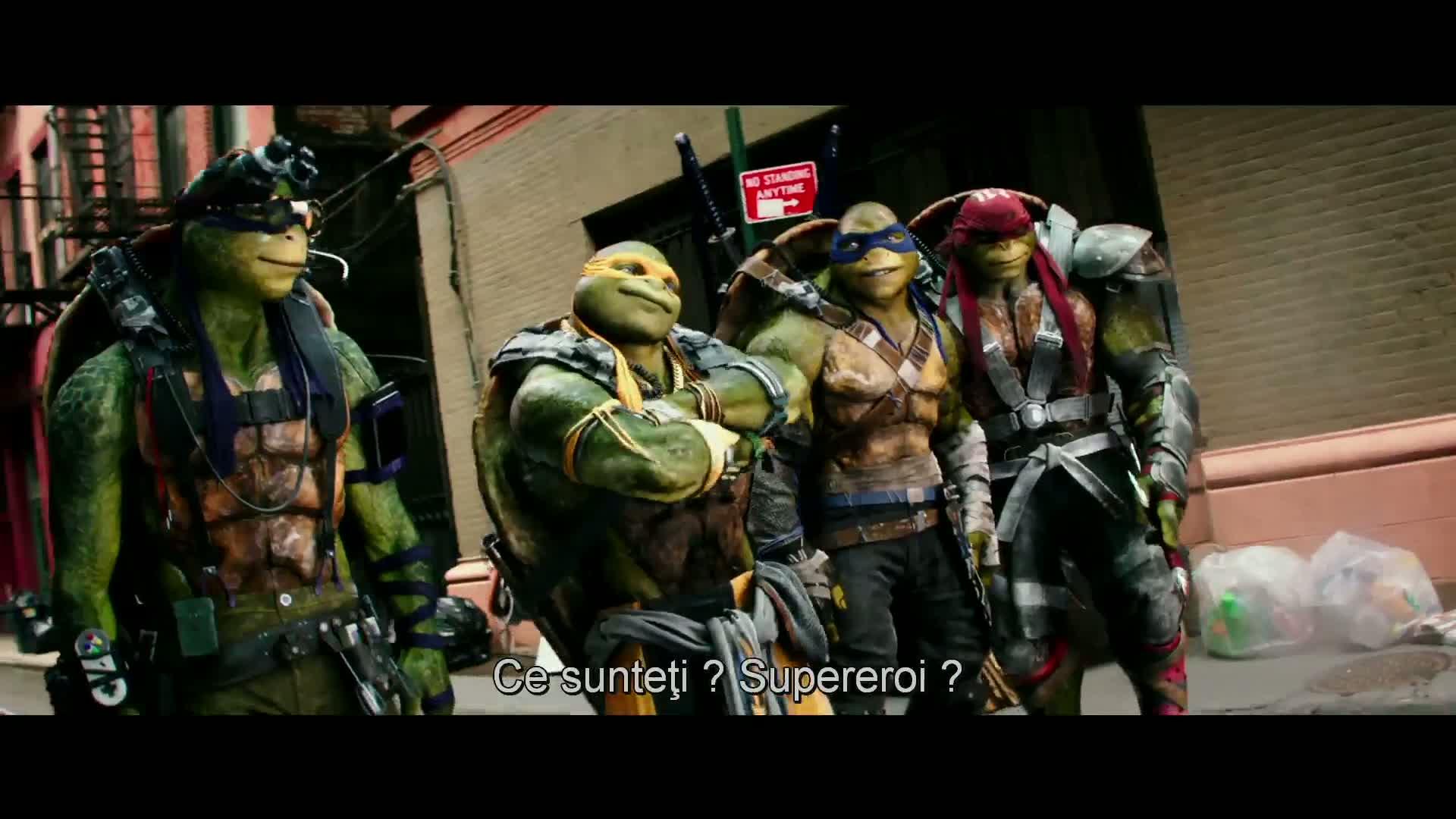 Teenage Mutant Ninja Turtles: Out of the Shadows – Ţestoasele Ninja 2 2016